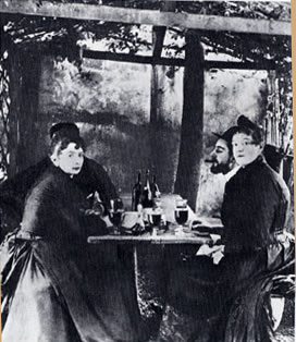 Toulouse-Lautrec au Moulin de la Galette - photo de Georges Beauté