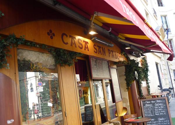 Casa san pablo cuisine basque et tapas espagnols paris for Cuisinier basque
