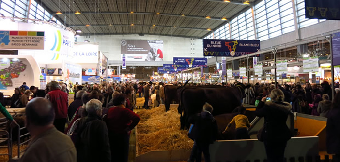 Salon de l 39 agriculture 2015 petit cru marqu par un for Salon agriculture paris 2015