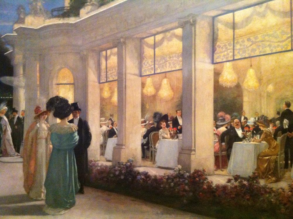 Une soirée Pré Catelan en 1909 par Henri Gervex - musée Carnavalet