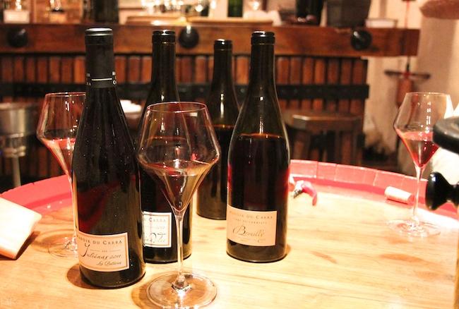 La gamme des vins du Manoir du Carra