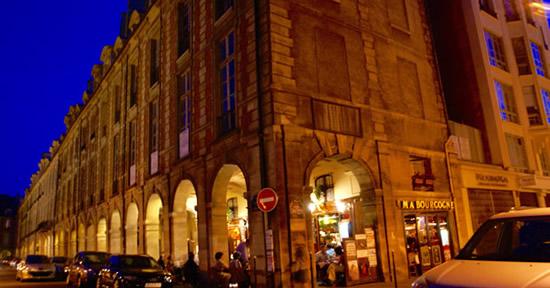 Ma Bourgogne sur la Place des Vosges…