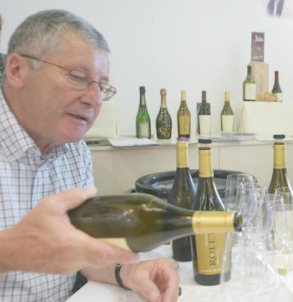 Pierre Rollet, vigneron jurassien