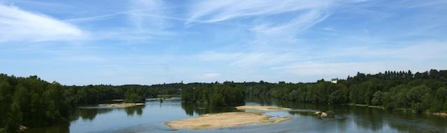 La Loire sépare Montlouis de Vouvray