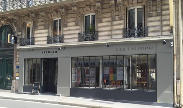 Restaurant Zebulon Paris Er