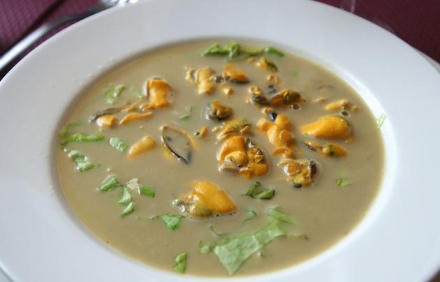 soupe de moules laitures
