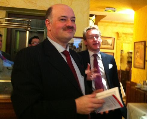 Alain Bauer et Laurent Plantier