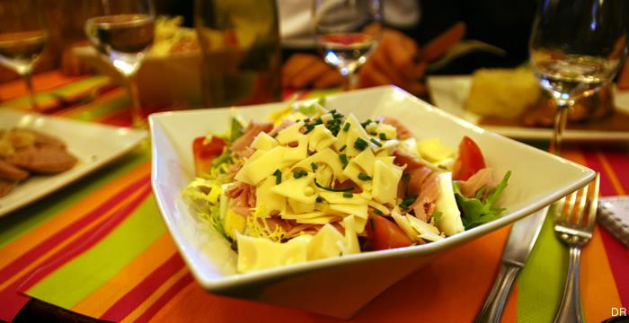 chavignol-salade