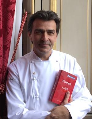 Yannick Alleno décroche les 3 étoiles pour le Pavillon Ledoyen