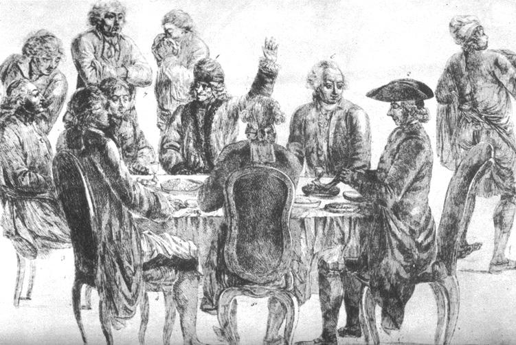 Voltaire au Procope