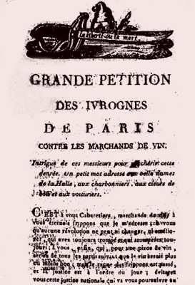 La Grande Pétition des ivrognes de Paris