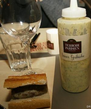 La sauce gribiche du Terroir Parisien