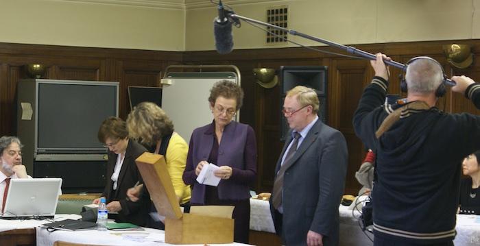 Lyne Cohen-Solal, adjointe au maire de Paris, annonce les résultats