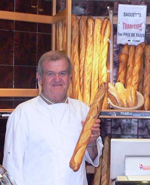 Jean-Pierre Cohier, lauréat du Grand prix de la meilleure baguette 2006