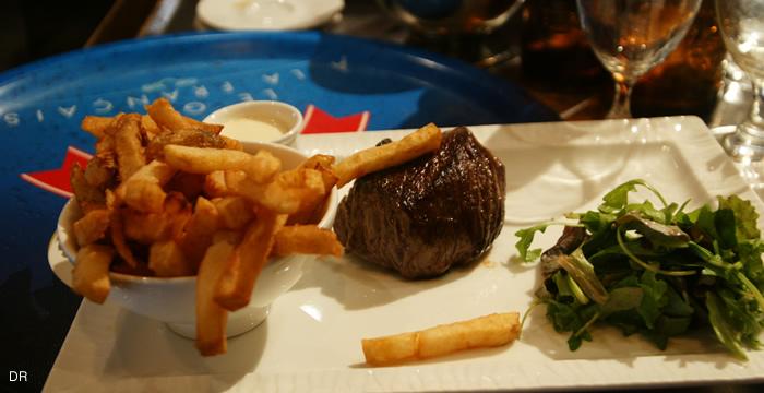 Pavé viande d'Aubrac au Galliera Paris 8ème