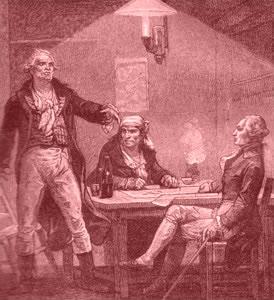 Danton, Marat et Robespierre