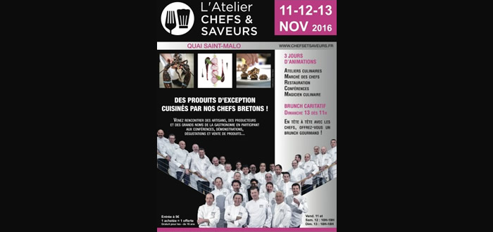 Tables saveurs de bretagne au salon chefs saveurs de for Salon saveurs paris