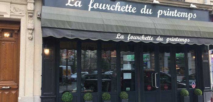 Fourchette du Printemps, l'étoile michelin bistrotière et parisienne