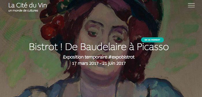 «Bistrot ! De Baudelaire à Picasso» une expo à La Cité du Vin.