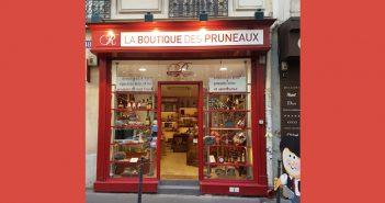 Dégustation de truffes et pruneaux de la Maison Roucadil rue Poncelet