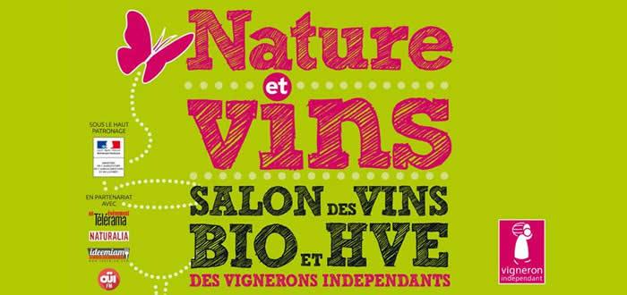 27, 28 et 29 mai 2016 Salon des Vins Bio et HVE des Vignerons Indépendants