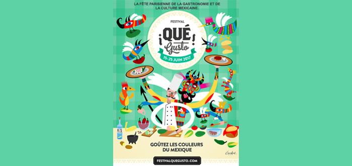 Du 15 au 25 juin 2017, 3ème édition du festival ¡Qué gusto!