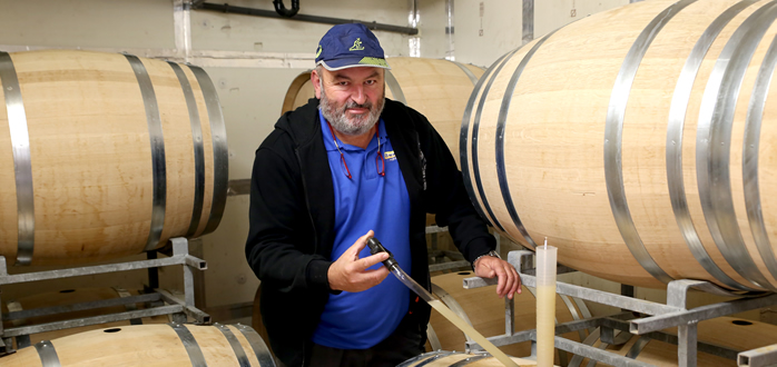 Patrick Chabrier, vigneron cévenol et valaisan