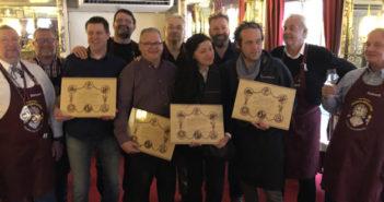 Les bistrots diplômés par les Francs-Mâchons pour 2017