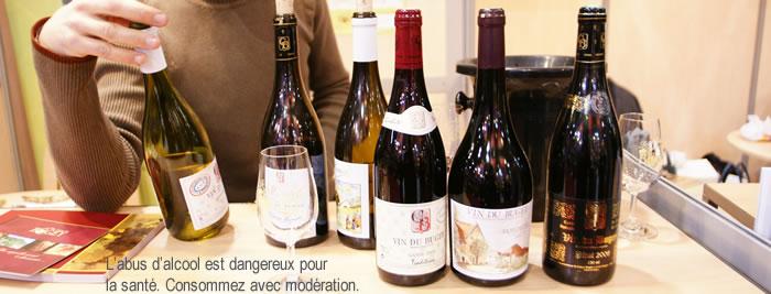 Sélection de vins du Bugey