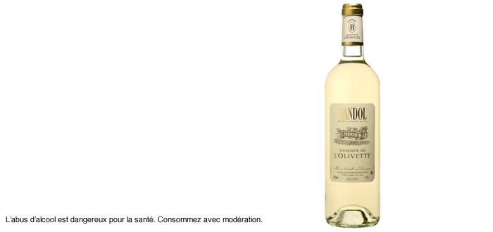 Domaine de l'Olivette – Bandol blanc tradition 2017