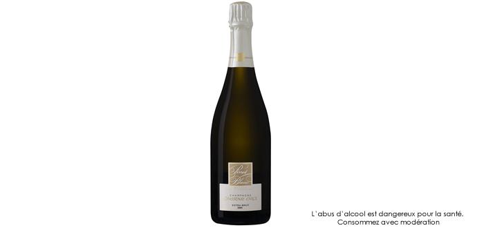 Champagne Chassenay d'Arce Pinot Blanc Extra Brut 2009