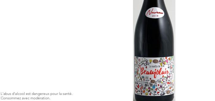 Beaujolais Nouveau 2018 de Vinescence