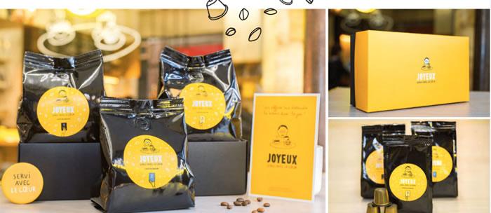 Café Joyeux ouvre un 3ème Coffee-Shop et lance sa marque de café