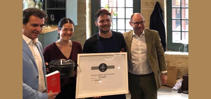 Affinité, prix Staub-Lebey du meilleur bistrot de l'année 2019