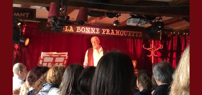 Jacques Weber cuisine Hugo au Bistrot