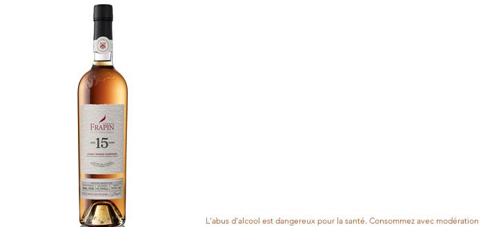 Frapin 15 ans d'âge, Cognac Grande Champagne