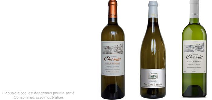 Les vins du Domaine Chiroulet