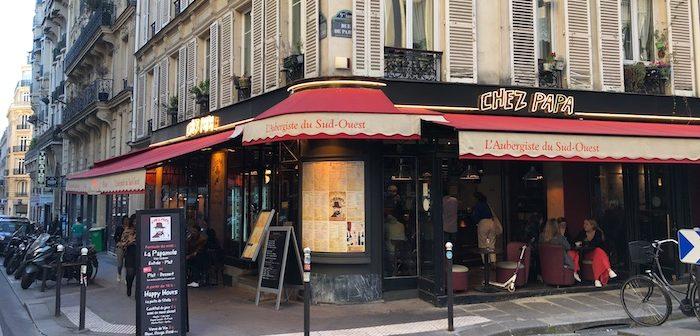 Chez Papa, rue de Clichy