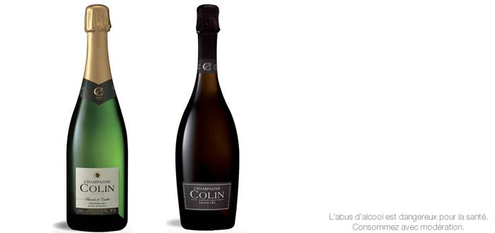 Les beaux bruts du Champagne Colin