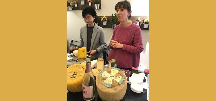 Master Class d'élection, vins et fromages italiens au Salon du Fromage