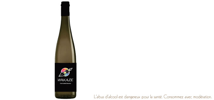 Wakaze, le saké du Grand Paris