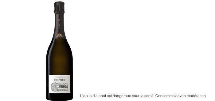 Clarevallis champagne bio et extra-brut signé Drappier