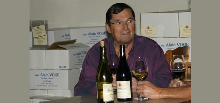 Alain Voge, mort d'un grand vigneron ardéchois