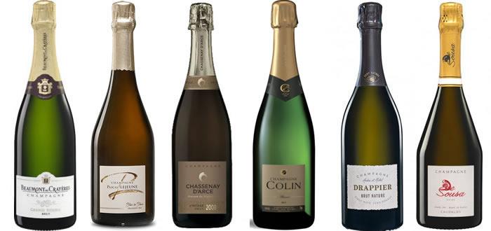 Sélection de champagnes pour les fêtes