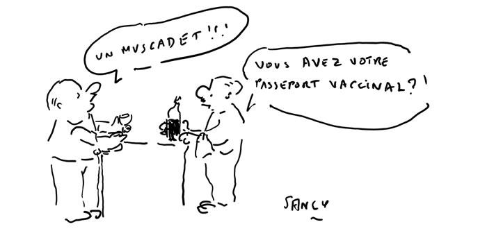 """Un """"passeport"""" pour boire un coup au bistrot."""